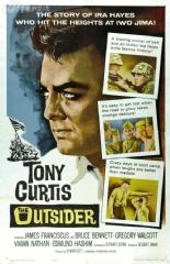 The Outsider 1961 DVD - Tony Curtis / James Franciscus